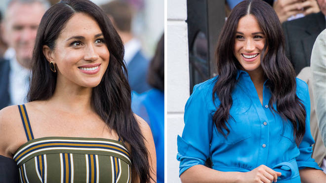 The Duchess of Sussex is recycling a lot of her older looks during the Royal Tour