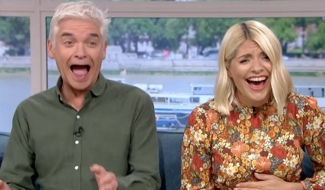 The moment Phil and Holly realised what had been asked