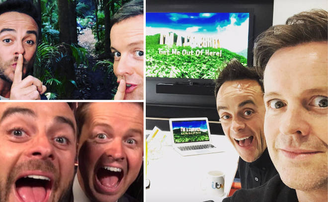 Ant and Dec tease I'm A Celebrity secrets as they meet up with ITV.