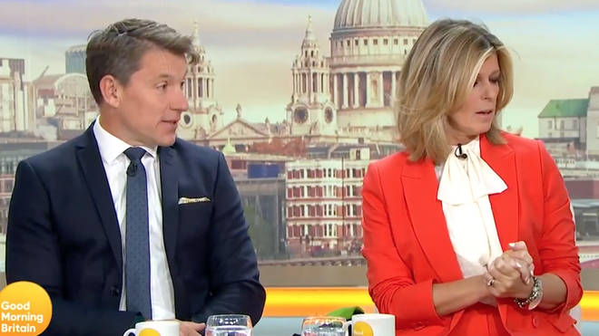 Co-hosts Ben Shepherd and Kate Garraway were also left baffled.