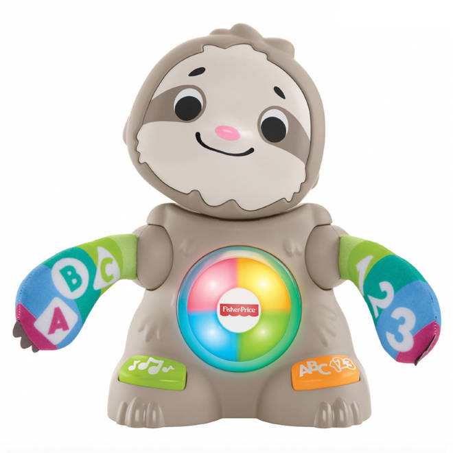Fisher-Price Linkimals Smooth Moves Sloth is perfect for curious babies.