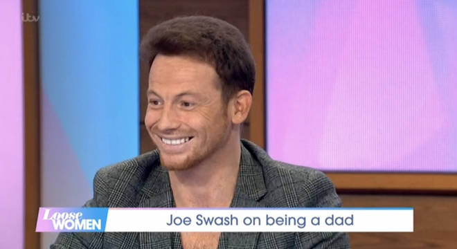 Joe had a great time on the show