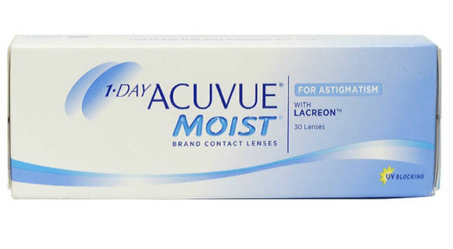 Customers are being asked to check the batch number on their boxes of 1-day Acuvue Moist for Astigmatism lenses to see if they need to return the product