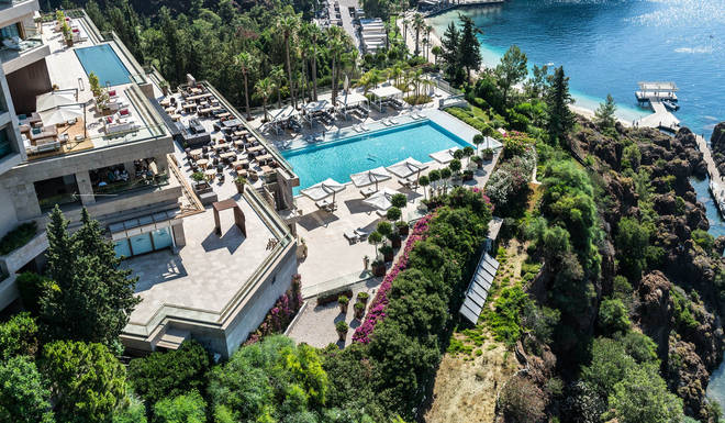 The stunning resort does not come cheap