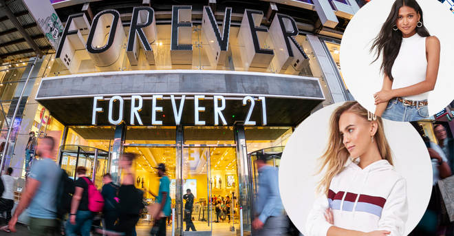 Forever 21 has announced it will be closing hundreds of stores worldwide