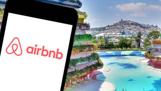 Ian and Denise booked their stay through Airbnb, and the apartment was listed by Lux Travel Collective – the accommodation had 37 reviews and a five-star rating on the site