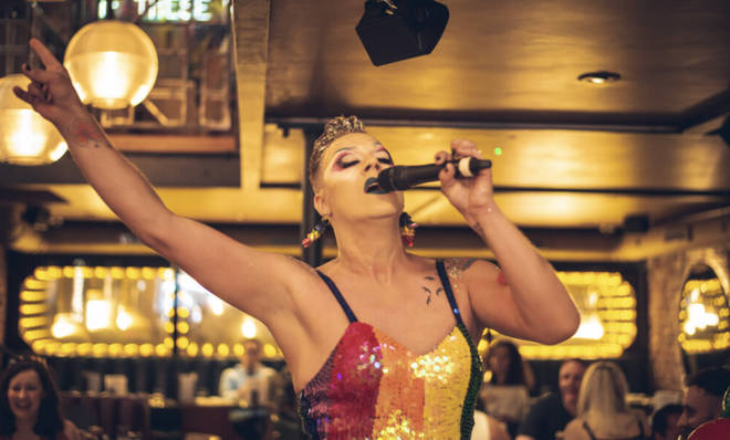 The drag brunch will keep you seriously entertained