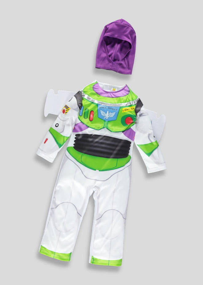 You can pick up this Buzz Lightyear outfit from Matalan
