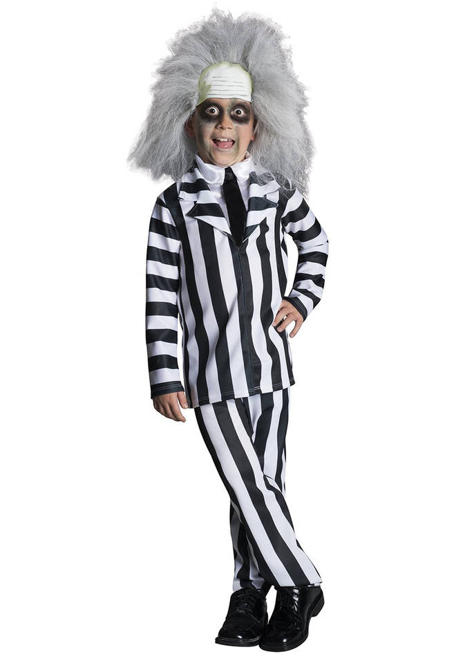 Dress your child up in this classic Beetlejuice outfit