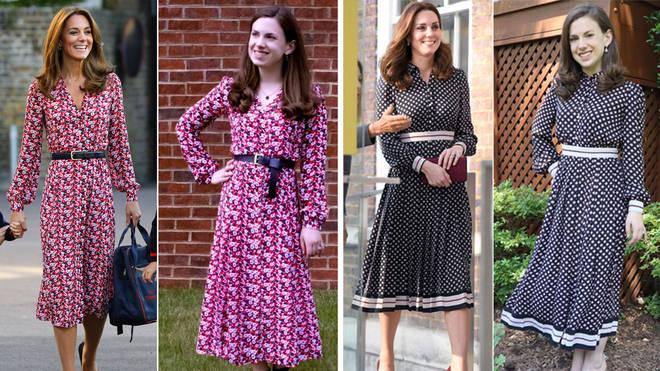 Mallory Bowling, 31, from Washington DC loves replicating Kate Middleton's ensembles