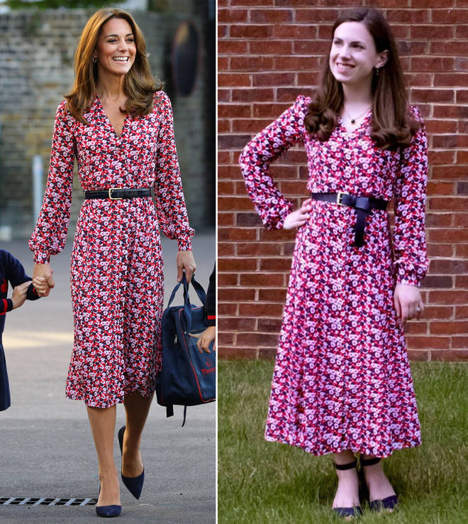 """The lawyer from Washington DC said it&squot;s a """"race against time"""" to nab a Kate Middleton outfit"""