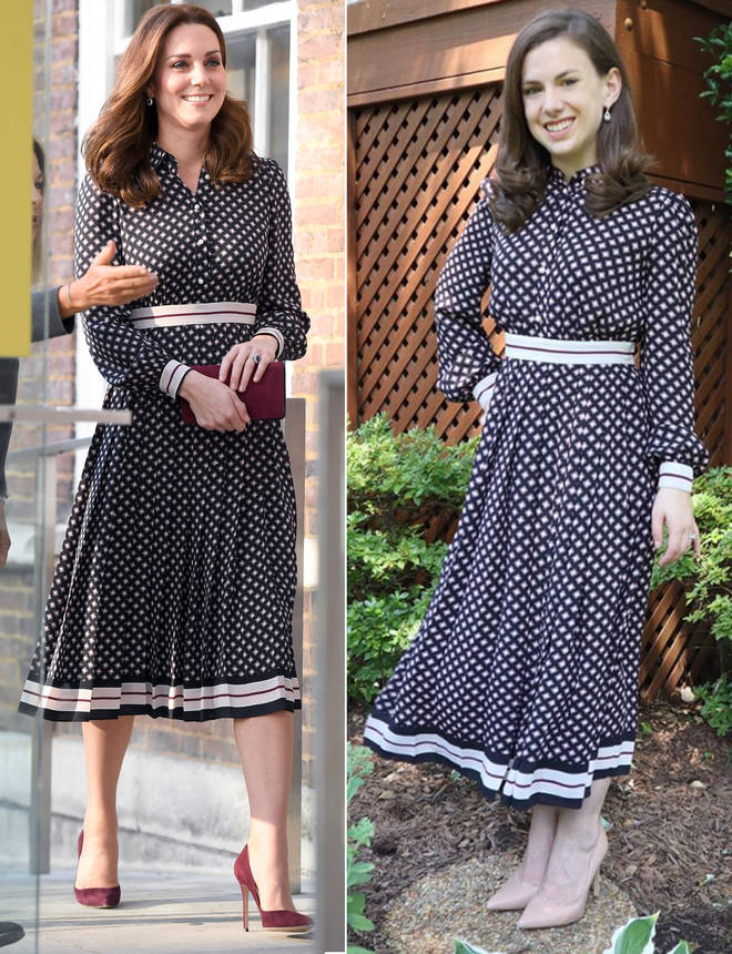 Mallory said there is a thrill in buying something Kate Middleton has worn