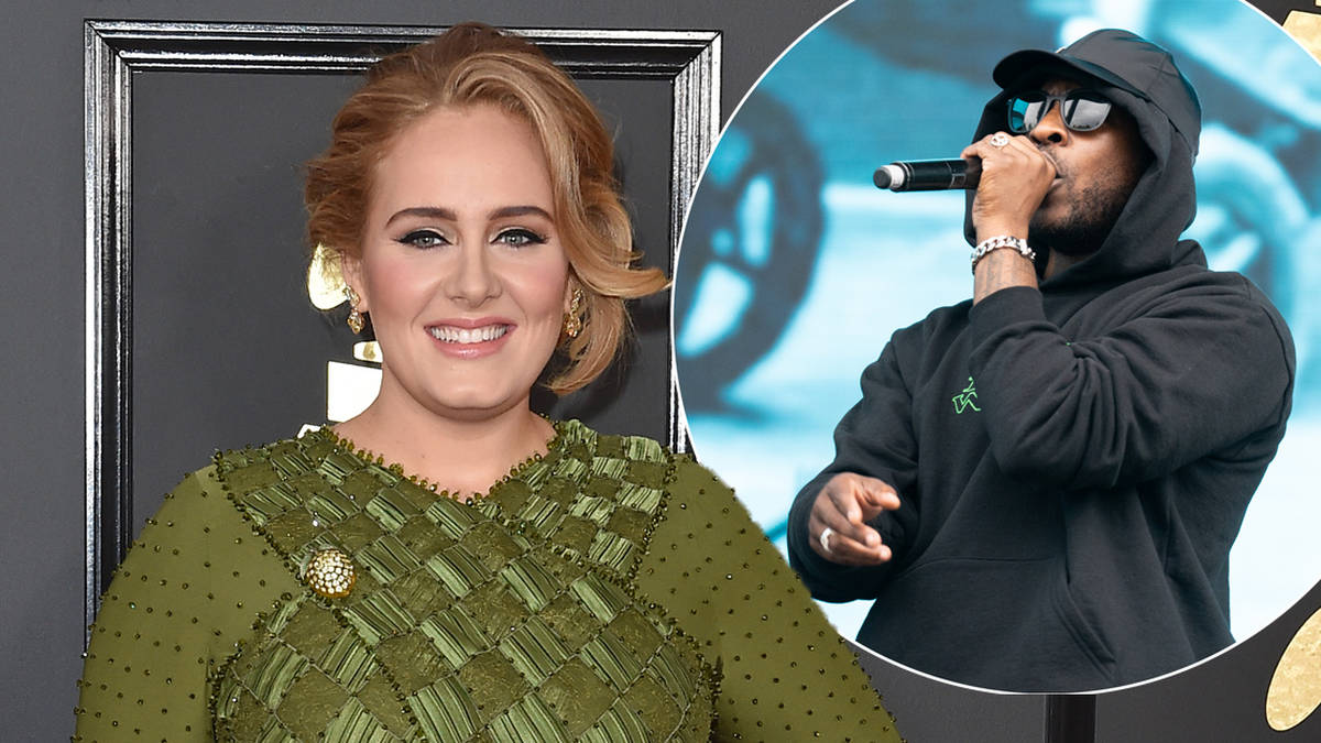 Adele Moves On With Naomi Campbell S Rapper Ex Skepta After Split From Simon Konecki Heart