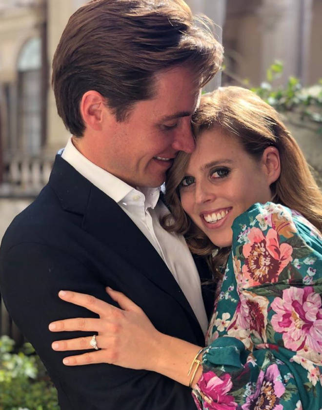 Princess Beatrice announced her engagement news earlier this year