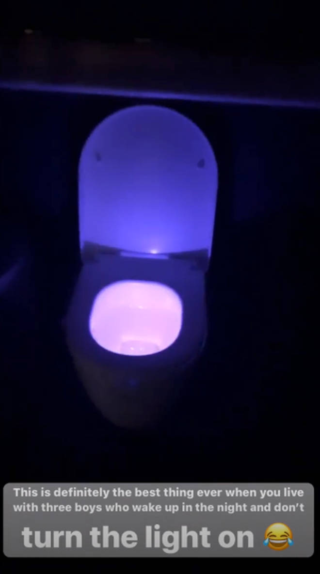 This toilet light stops any accidents