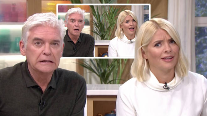 Holly and Phillip were left shocked at the girl's boyfriend's behaviour
