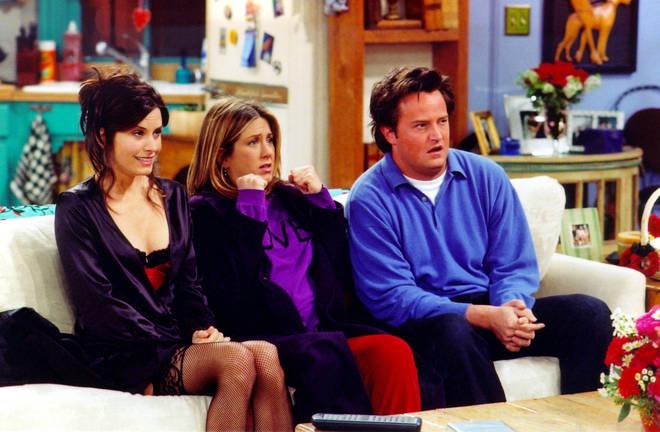 Chandler and Monica's honeymoon scenes had to be re-filmed