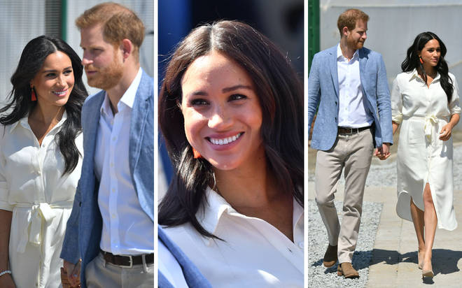 The Duke and Duchess of Sussex looked confident and happy during the last day of the Royal Tour