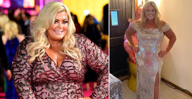 Gemma Collins has showed off her weight loss on Instagram