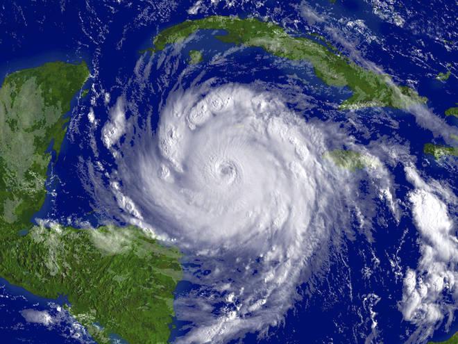 Hurricane Lorenzo is heading across the North Atlantic to us now