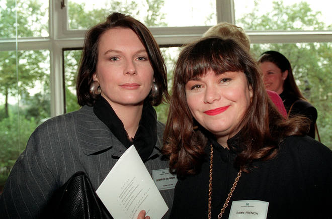 Dawn French and Jennifer Saunders haven't starred alongside each other on-screen for 10 years