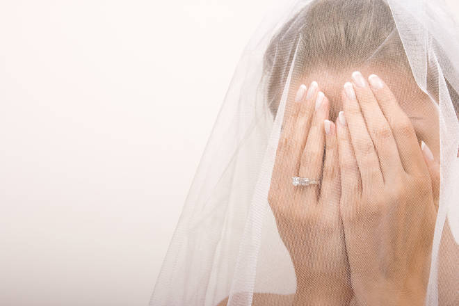The bride shared an unusual list of demands for her wedding guests (stock image)