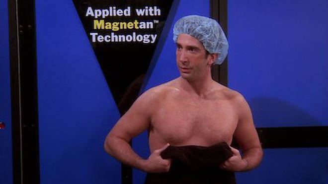 The hilarious episode where Ross goes for a spray tan has fans in fits every time