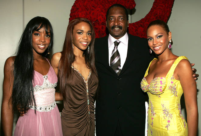 Mathew Knowles with Destiny's Child