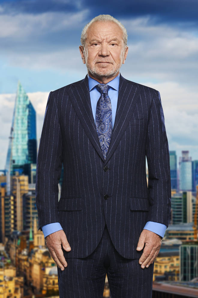 Lord Sugar's boardroom on the show is actually a set