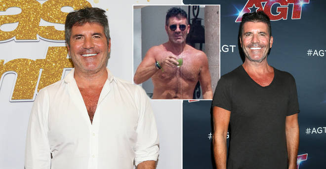 Simon Cowell shows off new abs on family holiday after impressive 1.5 stone weight loss