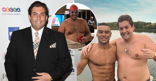 James Argent has revealed he's getting back to the gym