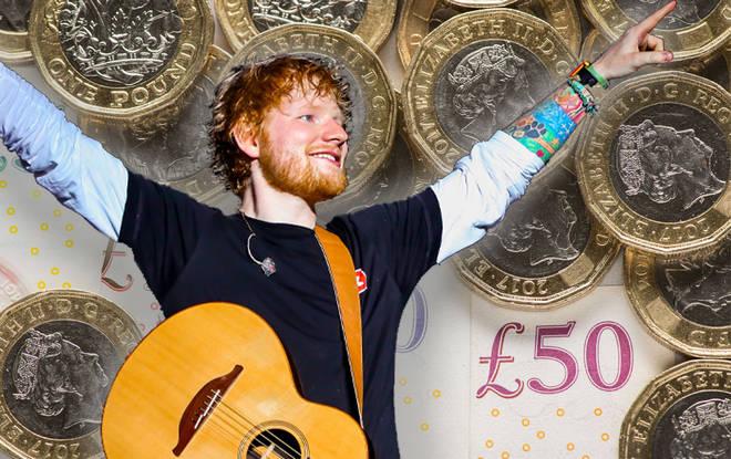 Ed's raking in the dough