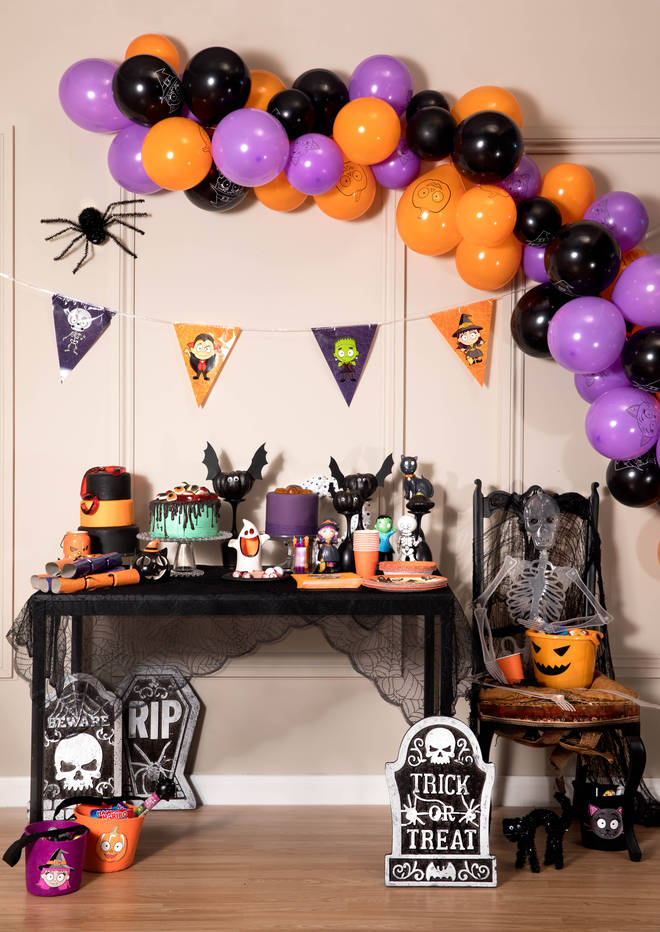 This idea for a kids' Halloween party is fun rather than scary