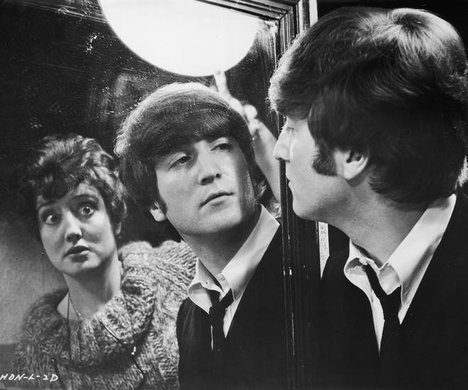 Anna also appeared in A Hard Day's Night
