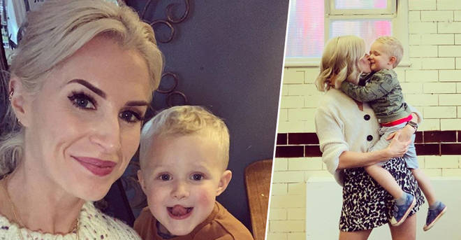 Hollyoaks' Sarah Jayne Dunn takes break from soap after son, 3, is rushed to hospital