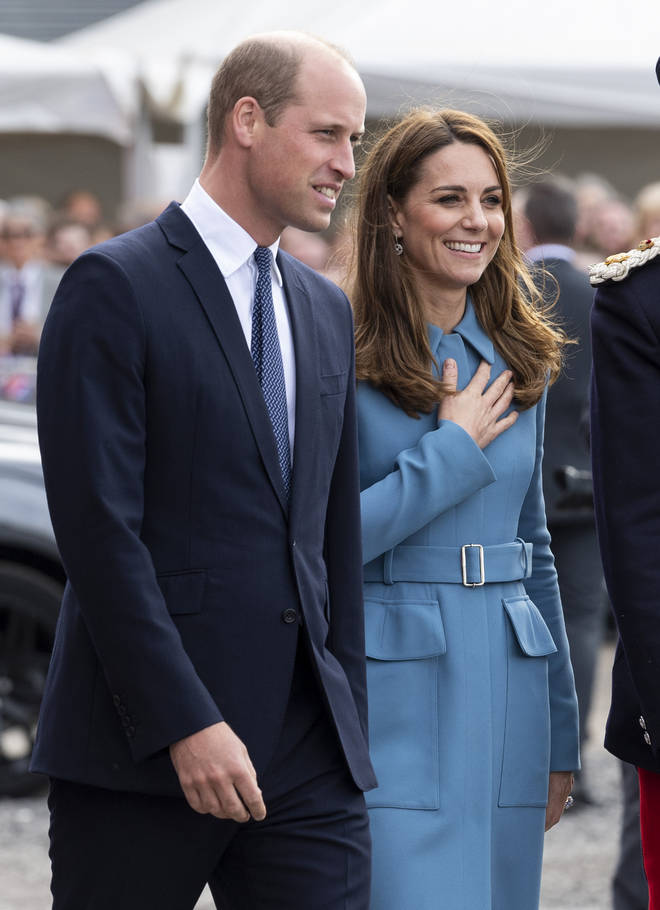 The Duke and Duchess of Cambridge's neighbouring apartment is now empty