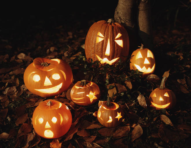 Pumpkins are often used for Jack O'Lanterns and discarded