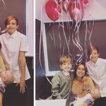 Stacey Solomon celebrated her 30th birthday – on the toilet