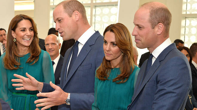 Kate Middleton and Prince William delight fans as they engage in a rare public display of affection