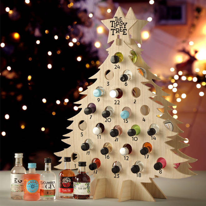 This gin tipsy tree can be purchased for £140