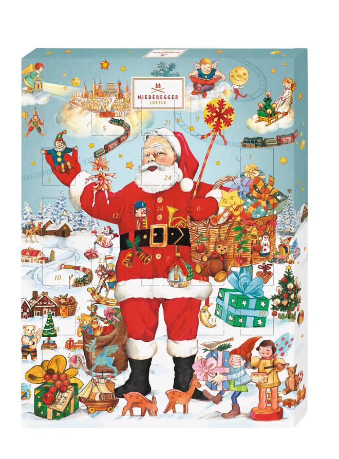 Niederegger's advent calendar is £35