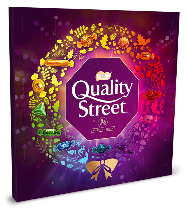 Quality Street is selling their advent calendar for £5