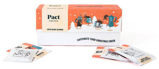 Pact's advent calendar is £39.95