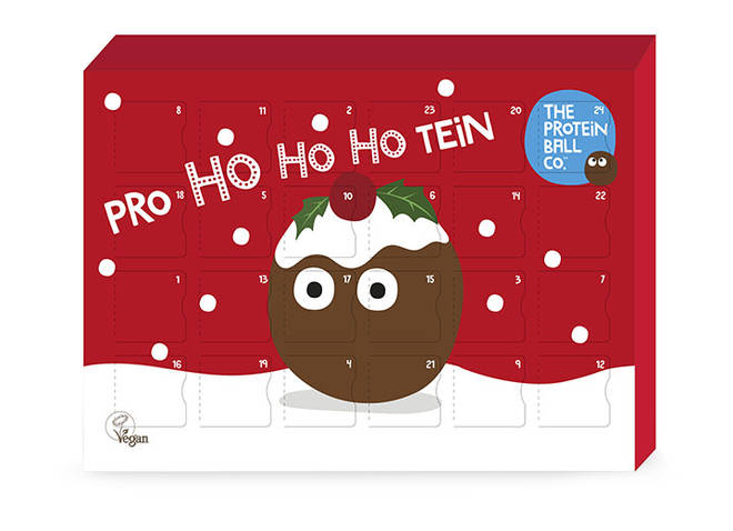 The Protein Ball Co. are selling this advent calendar for £19.99