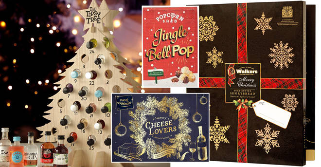 Check out our favourite alternative food and drink advent calendars