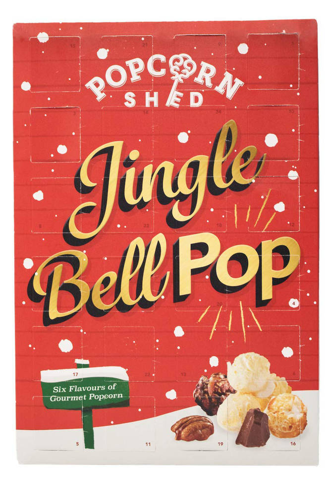 Popcorn Shed's advent Calendar is £17.99
