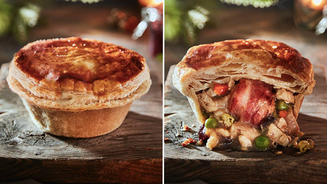 The pie will be sold during Christmas.