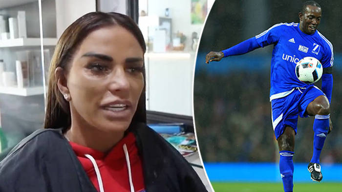 Katie Price Plans To Ambush Ex Dwight Yorke At Home To Force Him To Be A Part Of Son Heart