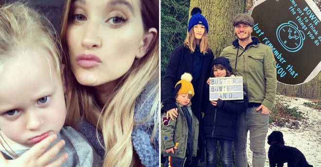 Charley has shared a glimpse of her latest parenting hack