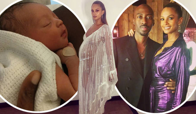 Alesha Dixon gave birth to her second daughter earlier this year